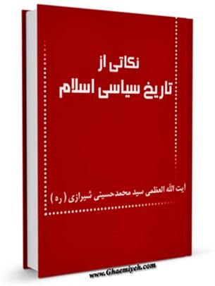 نکاتی از تاریخ سیاسی اسلام
