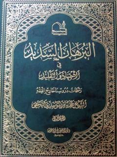 البرهان السدید فی الاجتهاد والتقلید: رشحات دروسنا خارج الفقه جلد 2