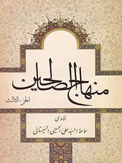 منهاج الصالحين جلد 3